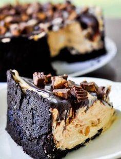 Chocolate Peanut Butter Torte | foodgio