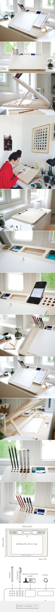 My Drawing Board la table à dessin par Benjamin Benais - Blog Esprit Design Necesito esrooooo  I want to cry...