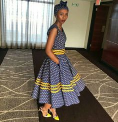 African Shweshwe Styles Trendy for Ladies - Fashion South African Fashion, African Fashion Ankara, Latest African Fashion Dresses, African Dresses For Women, African Print Dresses, African Print Fashion, African Attire, African Prints, Xhosa Attire