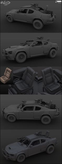 Ravaged Vehicle (new vehicle sample) - Polycount Forum