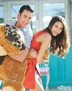 Nadech Kugimiya & Yaya Urassaya (IN vol. Thai Princess, My Love From The Star, Cute Girl Face, Thai Drama, Young Fashion, Sweet Couple, Cute Korean, Actor Model, Cute Couples