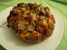 Curryfee: [Rezept] Gefülltes Brot