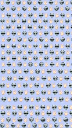 alien emoji iphone wallpaper - Buscar con Google
