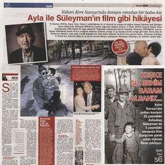 """Ayla Film Official (@ayla_film): """"#Ayla ile Süleyman'ın hikayesi dün Hürriyet Pazar'daydı. @hurriyetcomtr #AylaFilmi #AylaFilmi…"""""""