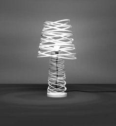 Metallic curls and beautiful light from Russian designer Dima Loginoff