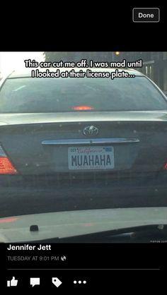 License to laugh!