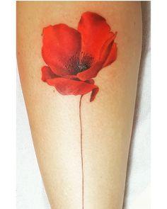 My wonderful poppy tattoo! AMAZING! #POPPY #TATTOO