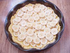 30 perces omlós-habos banános süti