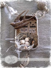 **My Desert Cottage**: NEST necklace