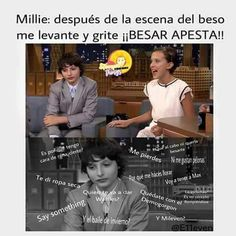 """Read from the story Fotos,Memes y Mileven """"Stranger Things"""" by janetnocontrol (JanetXia❄) with reads. mileven, etc, dustin. Golpe bajo al pequeñin d. The Stranger, Bobby Brown Stranger Things, Stranger Things Season 3, Stranger Things Funny, Stranger Things Netflix, Saints Memes, Funny Memes, Jokes, Netflix Series"""