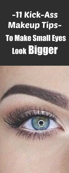 Here are 11 makeup tips to make small eyes look bigger!