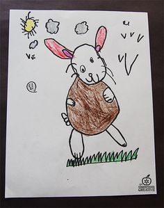 Easy to draw Easter