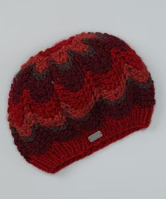 Take a look at this NY Accessories Rust Chevron Beret by Après Ski: Women's Accessories on #zulily today!