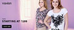 Flat Rs.199 offer on #WOMEN'S #CLOTHING at #Flipkart best #deals with #MadpiggyApp Download now: goo.gl/xXtOSu