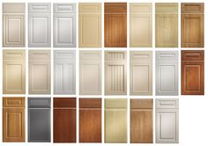 kitchen cabinet door fronts by Wood-Mode … | Paint Th…