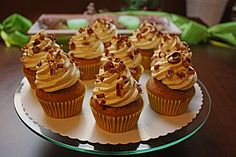 Tiramisu - Cupcakes mit Mascarponecreme