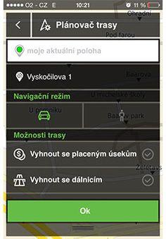 #gps #navigace #vanoce2014 #darek #mediatel #aplikace Navigace NACESTY - NA CESTY_planovac trasy