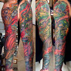 full black sleeve tattoo meaning Car Tattoos, Forarm Tattoos, Body Art Tattoos, Tribal Tattoos, Tattoos Pics, Tattoo Art, Tattoo Photos, Tattoo Drawings, Tattoo Images