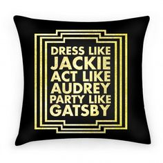 Party Like Gatsby | HUMAN | T-Shirts, Tanks, Sweatshirts and Hoodies
