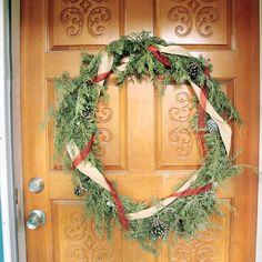 How to Make a Christmas Wreath | Capper's Farmer