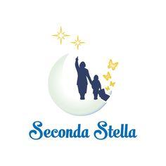Studio logo - Seconda Stella di Silvia Ledda - Educatrice - Operatore ABA Assistente Analista del Comportamento --- Designer: Stefano Sodini [Tipografia Digital Color]
