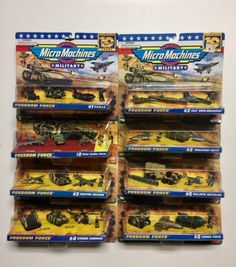 Tanks and Military Vehicles 171138: Micro Machines Collection Lot, Micro Machines Military, Micro Machines Lot Of 8 -> BUY IT NOW ONLY: $199.99 on eBay!