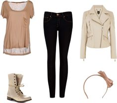 """""""Combat Boots1"""" by caf2403 on Polyvore"""