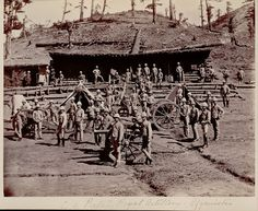 This is a cracking shot of the Royal Artillery in Afghanistan 1880. I love shots like these...