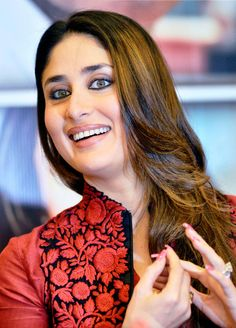 Kareena Kapoor Khan during a promotional event for her upcoming film Satyagraha, in Ahmedabad. #Bollywood #Style #Fashion