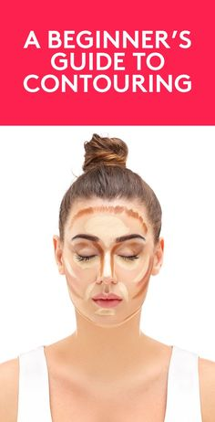 A Beginner's Guide to Contouring | We know—the dark stripes popping up on people's faces are totally terrifying, but they don't have to be. With a few simple steps (and lots of blending), you can subtly enhance your face shape. Hello, cheekbones.