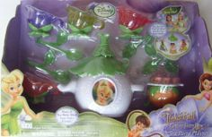 Disney Fairies Tinker Bells Garden Party Tea Set (Open Box-Blistered) by Jakks. $22.99