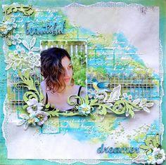 The Dusty Attic Blog: Beautiful Dreamer - Cathy Cafun (Mood Board inspiration)