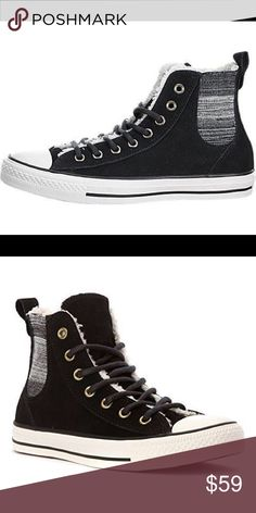 Converse Womens Chuck Taylor All Star Converse Womens Chuck Taylor All Star Chelsee Shearling Sneaker Converse Shoes Sneakers