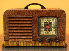 "Saatchi Online Artist TOULA MAVRIDOU-MESSER; Photography, ""Vintage - Philco Radio"" #art"