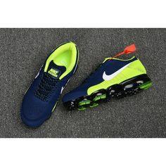 pick up d1c42 5aab2 Cheap Nike Air Max 2018 Navy Blue Green Sneakers Mens Nike Air, Nike Air  Vapormax