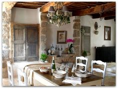 Art Symphony: French House in the centre of Cévennes