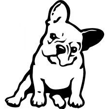 """Click visit site and Check out Cool """"French Bulldog"""" T-shirts. This website is top-notch. Tip: You can search """"your name"""" or """"your favorite shirts"""" at search bar on the top. French Bulldog Tattoo, French Bulldog Art, French Bulldogs, Cãezinhos Bulldog, Bulldog Drawing, Animals And Pets, Cute Animals, Image Svg, Images Vintage"""