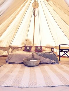 Bell Tent Interiors