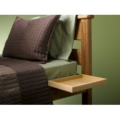 The BunkPal is a fully adjustable shelf designed to fit any bed per...