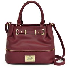 c7c43da81 nicole by Nicole Miller Cassidy Bucket Bag (2.730 RUB) ❤ Saved for color.