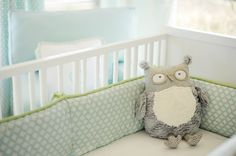 love the soft green and blue- could be for a boy or girl?!