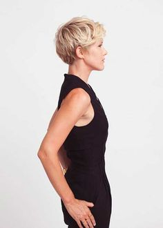 7.Layered Pixie Cut