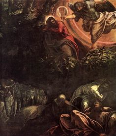 Jacopo Robusti (Il Tintoretto), The Agony in the Garden, c. 1578-91
