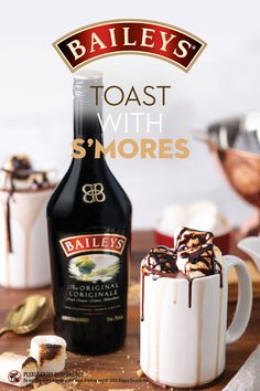 Easy Drink Recipes, Alcohol Drink Recipes, Yummy Drinks, Baileys Original Irish Cream, Baileys Irish Cream, Baileys Recipes, Baileys Drinks, Irish Cream Drinks, Alcohol Chocolate