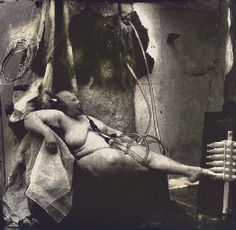Joel0Peter Witkin: Sanitarium, New Mexico, 1983    Inspired the 2001 Alexander McQueen show VOSS