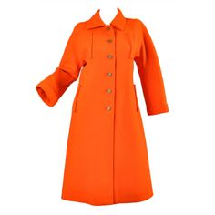 Courreges 1960s Wool Coat | From a collection of rare vintage coats and outerwear at http://www.1stdibs.com/fashion/clothing/coats-outerwear/