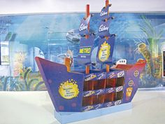 Retail Point of Purchase Design | POP Design | Confectionary POP | POS | POSM | Ship Display by naishadh jhaveri, via Behance