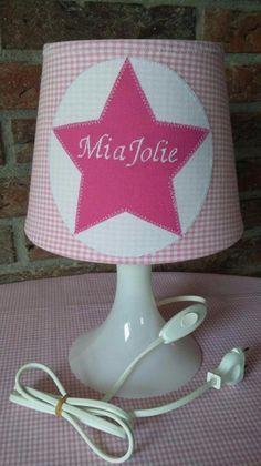 """Kinderlampe Stern mit """"Name"""" von Firlefanz auf DaWanda.com"""