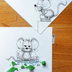 3d Drawings, Cute Animal Drawings, Pencil Drawings, Big Eyed Animals, 3d Drawing Techniques, Pop Book, Animal Doodles, Bunny Crafts, Artist Art