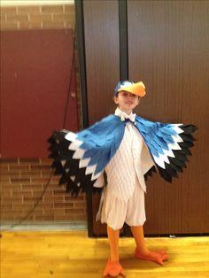 Zazu costume for Lion King Jr